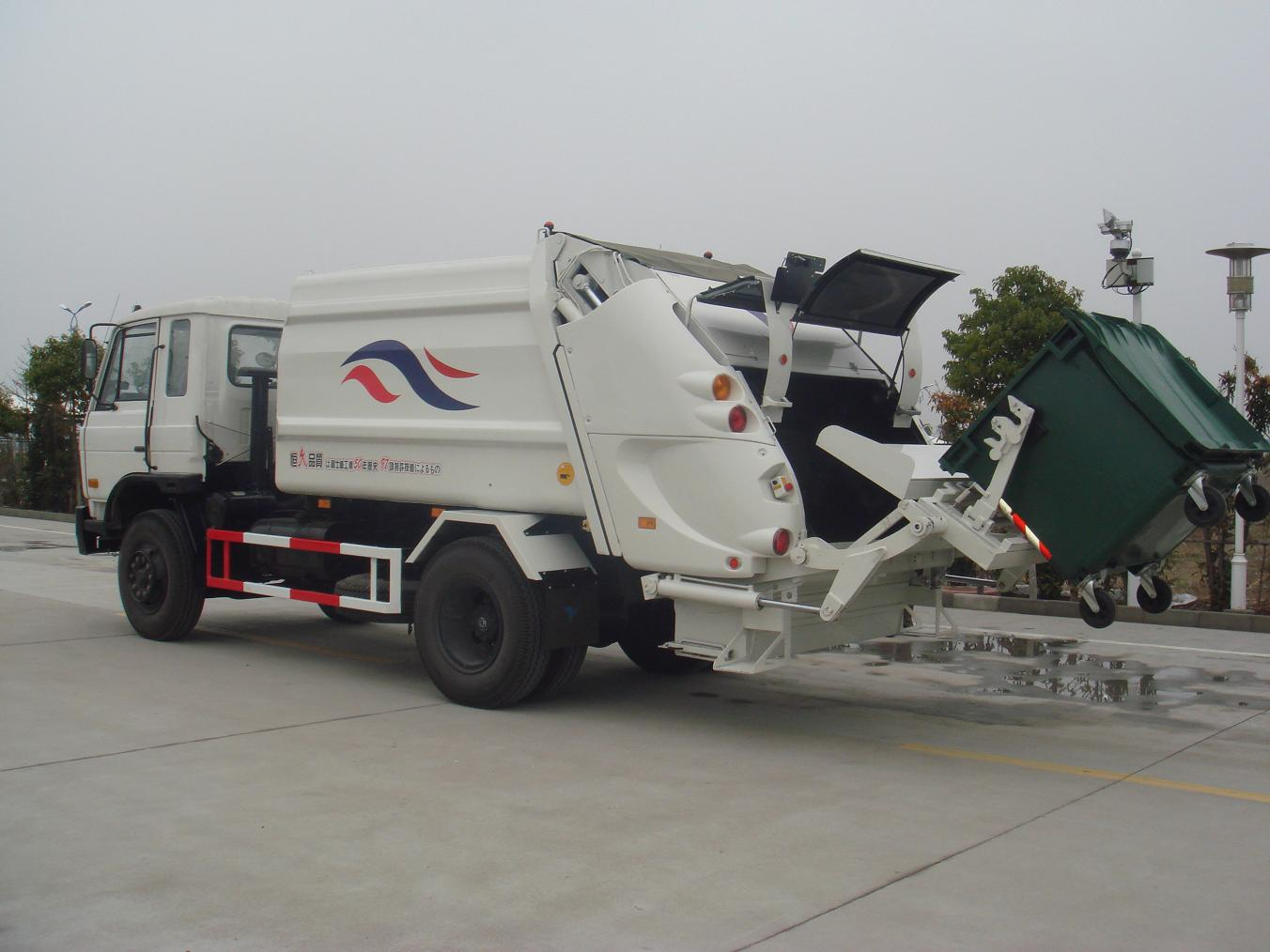 1100L Garbage container use in truck(1)